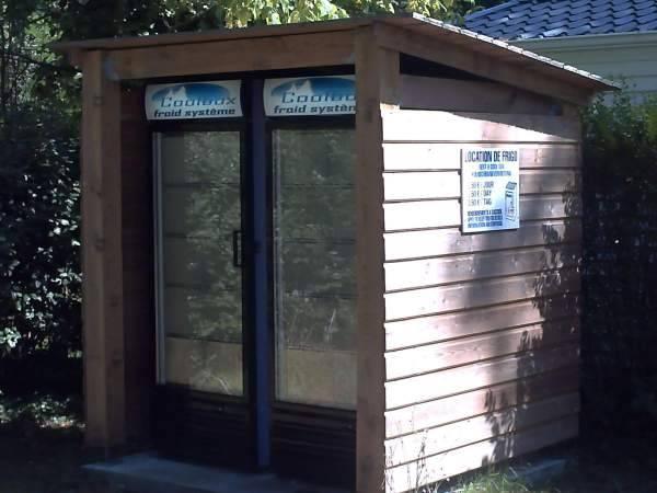 Location de frigo au camping Marina Landes