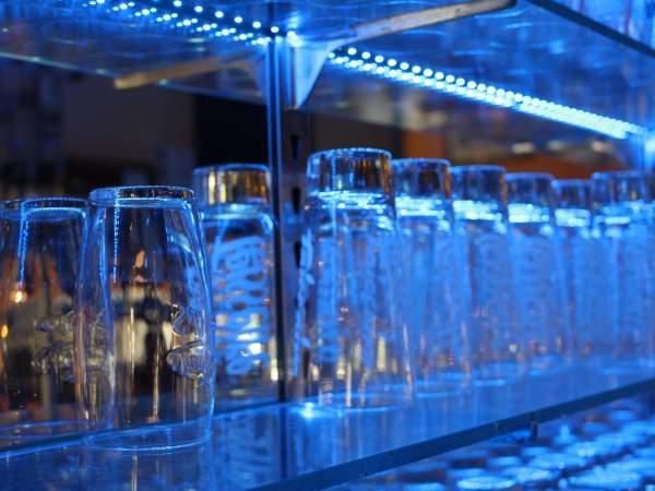 Le bar du camping Marina Landes
