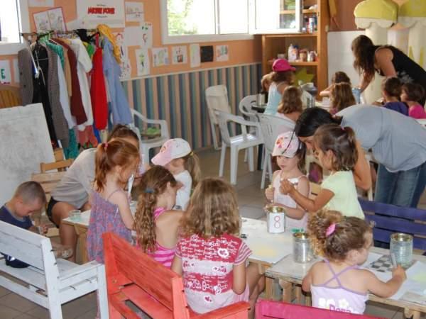 Des activités ludiques pour les enfants tout au long de la saison au camping Marina Landes